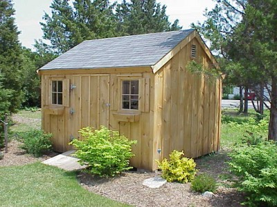 wood shed post and beam shed kits