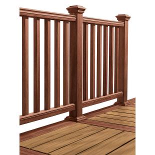 composite deck railing system
